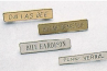 Police Name Badges