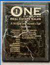 N&R Marble Plaque